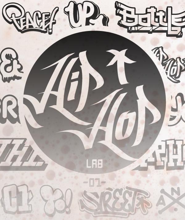 Hip hop fonts png free download | png mart.