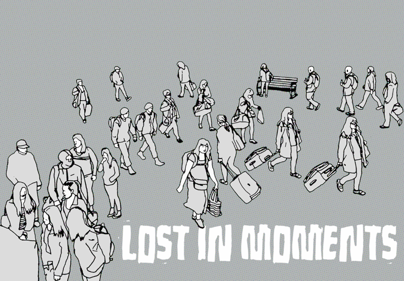 Lost in moments Font
