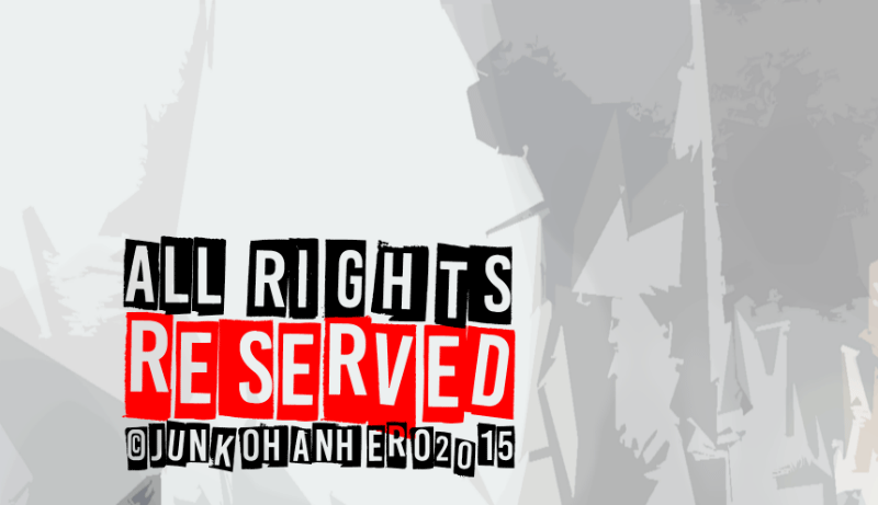 All Rights Reserved Font