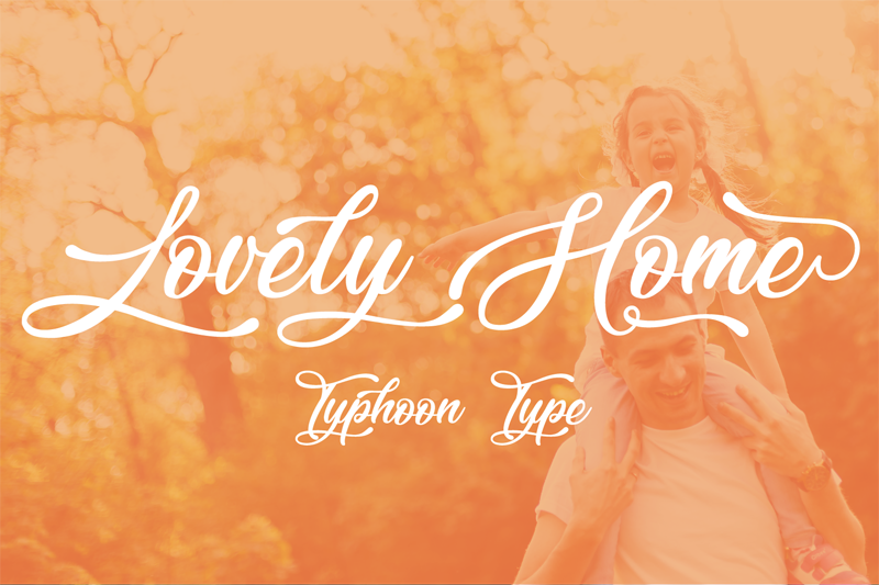 Lovely Home Font - photo#1