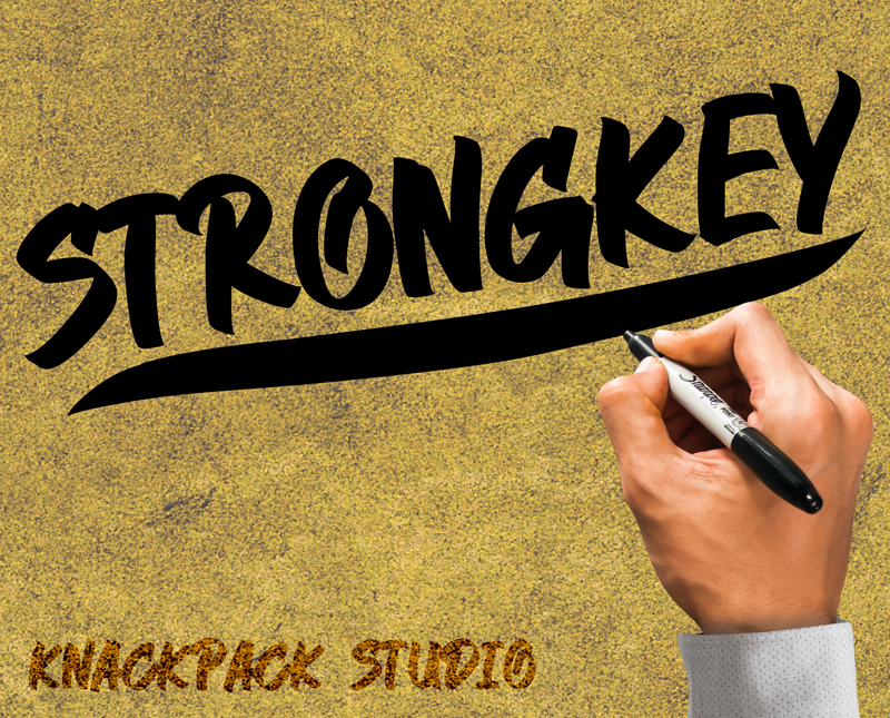 Strongkey Font