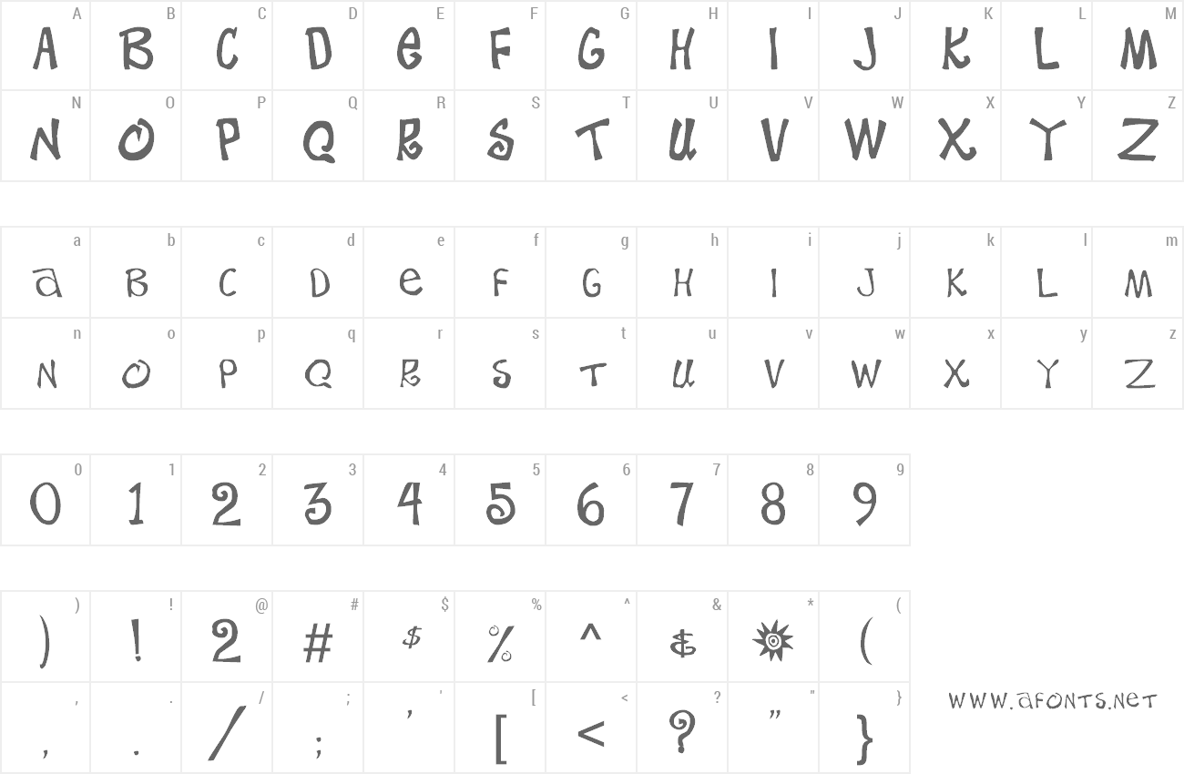 Font Beach Type preview