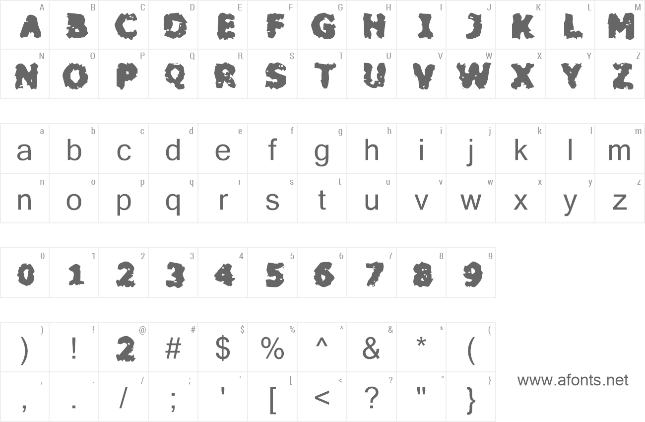 Font Blackfly Mambo preview
