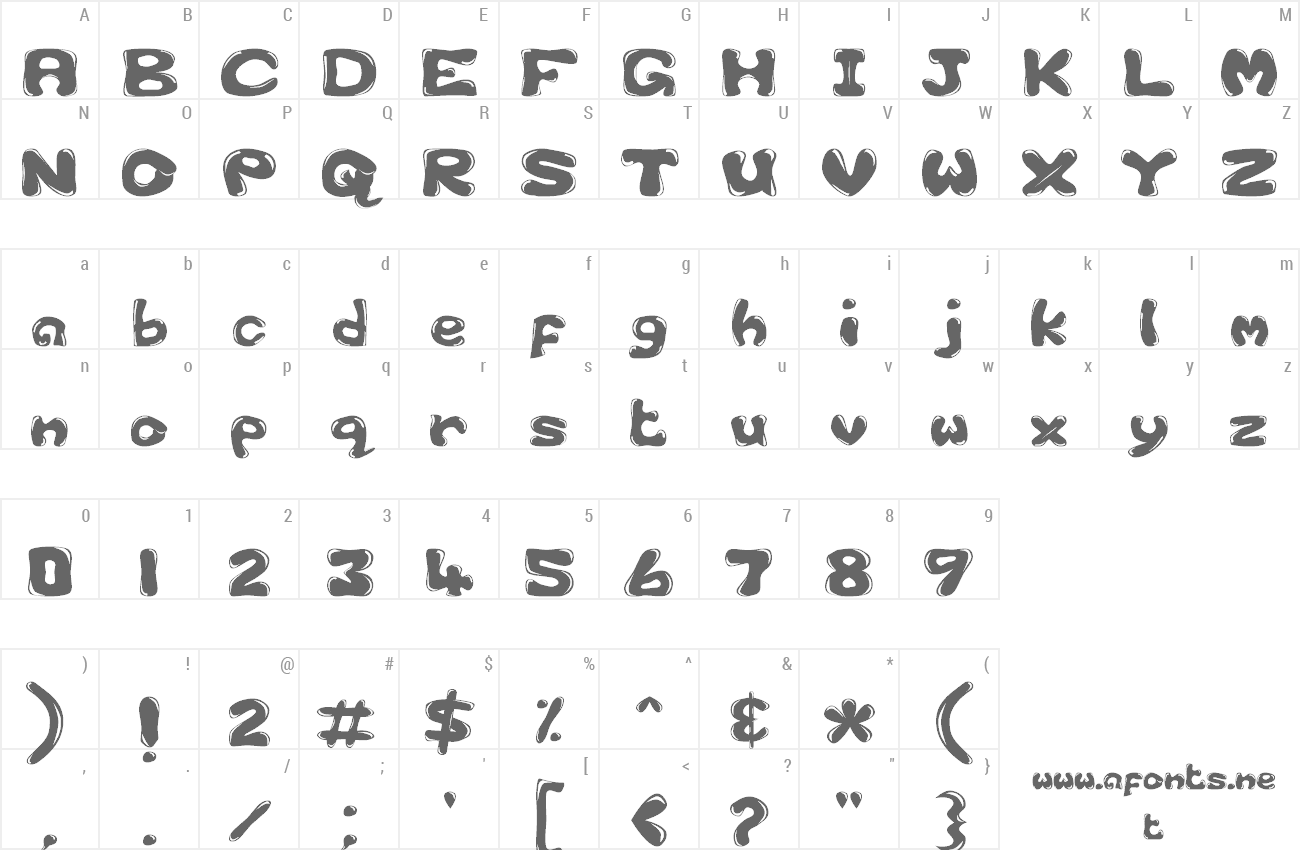 Font Bubble 1 preview