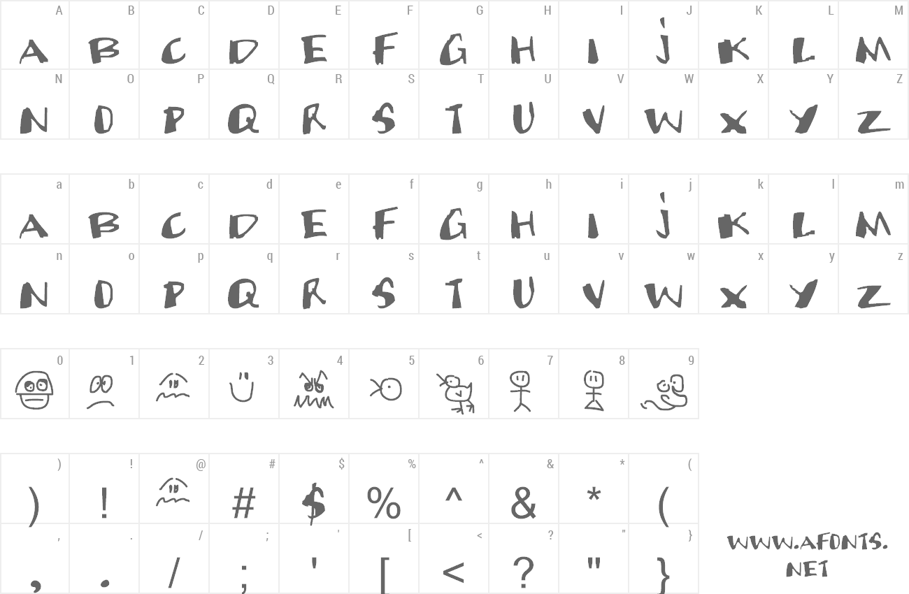 Font Candy Sniper preview