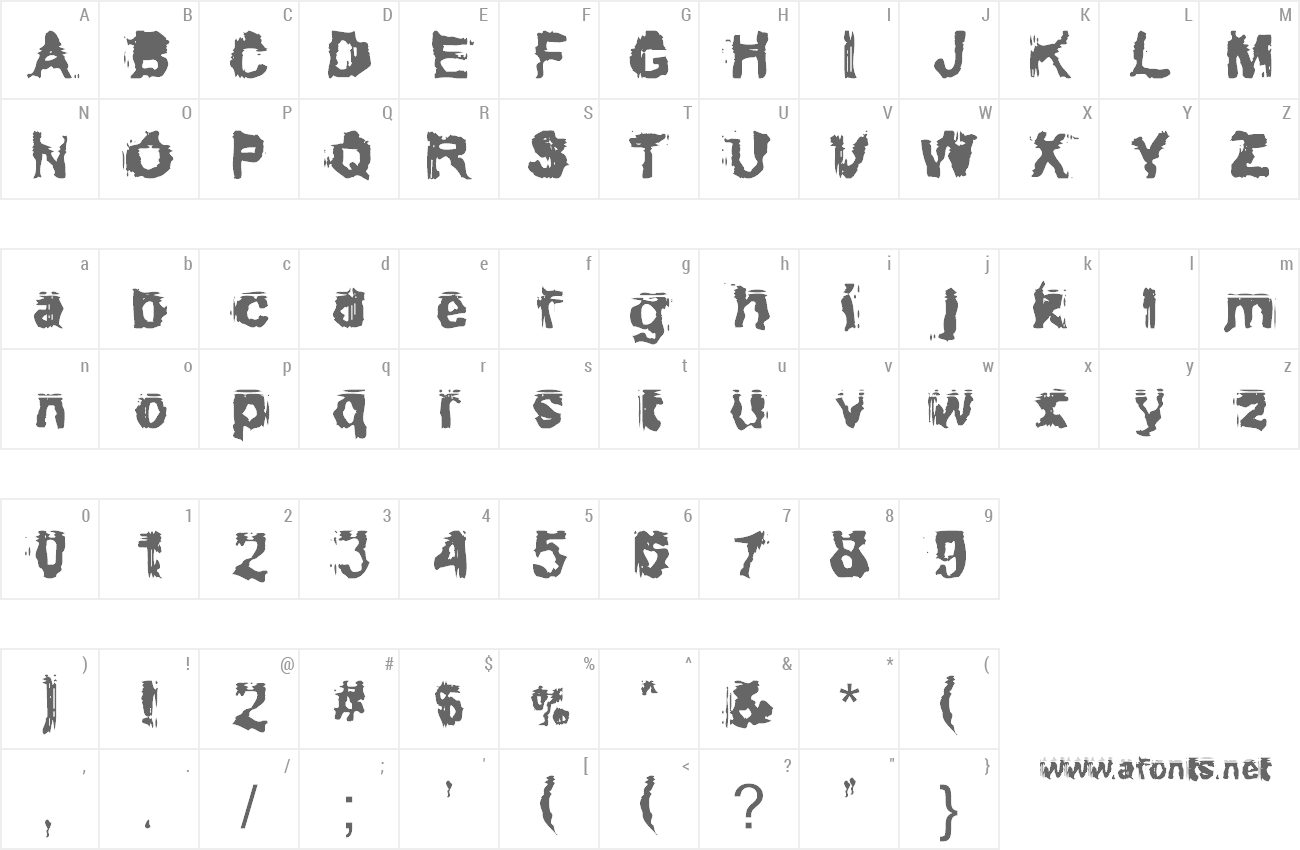 Font Conformyst preview