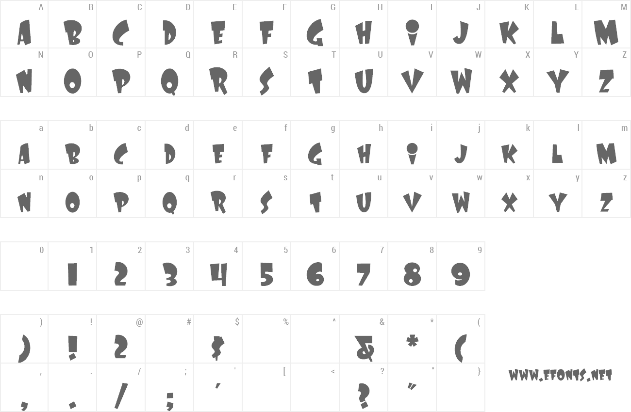 Font Laff Riot NF preview