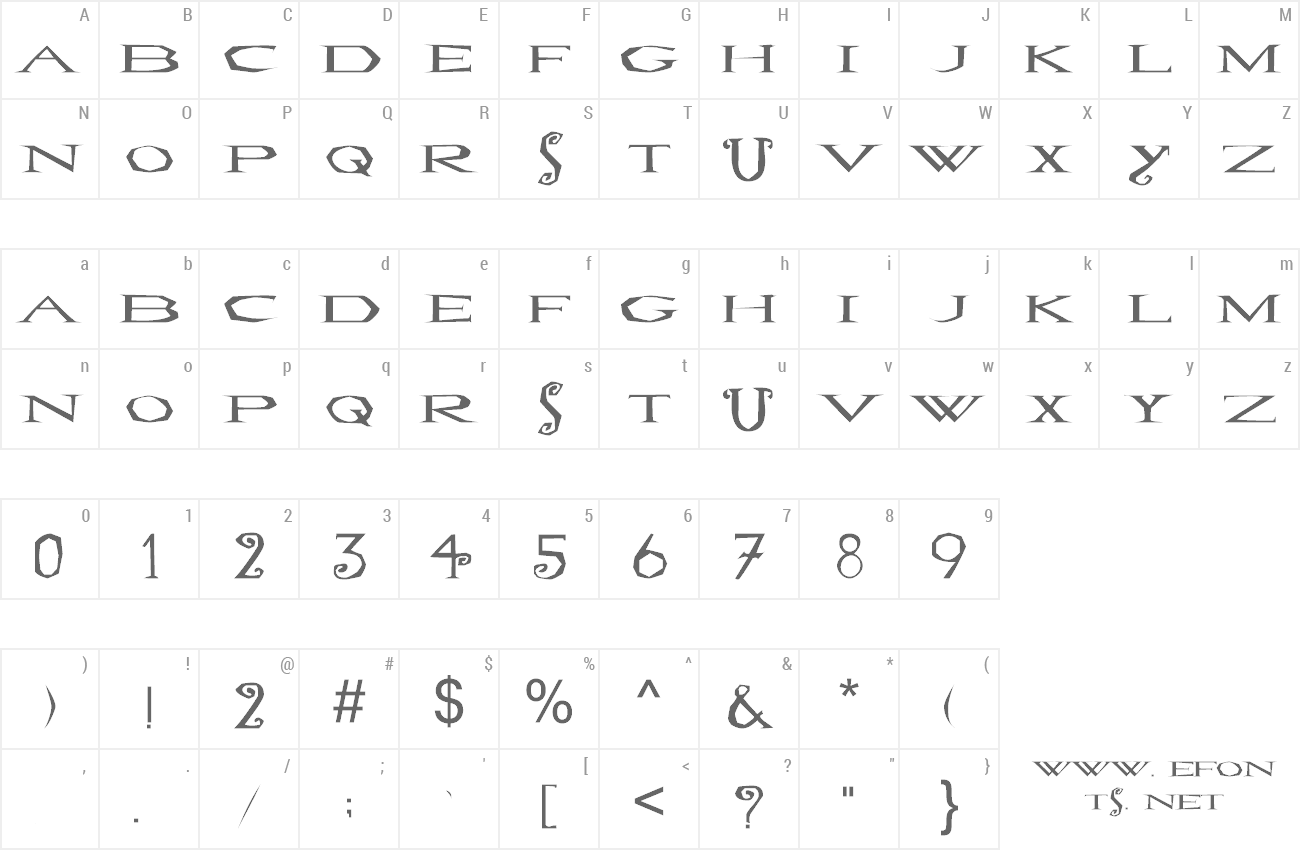 Font LoveSexy preview