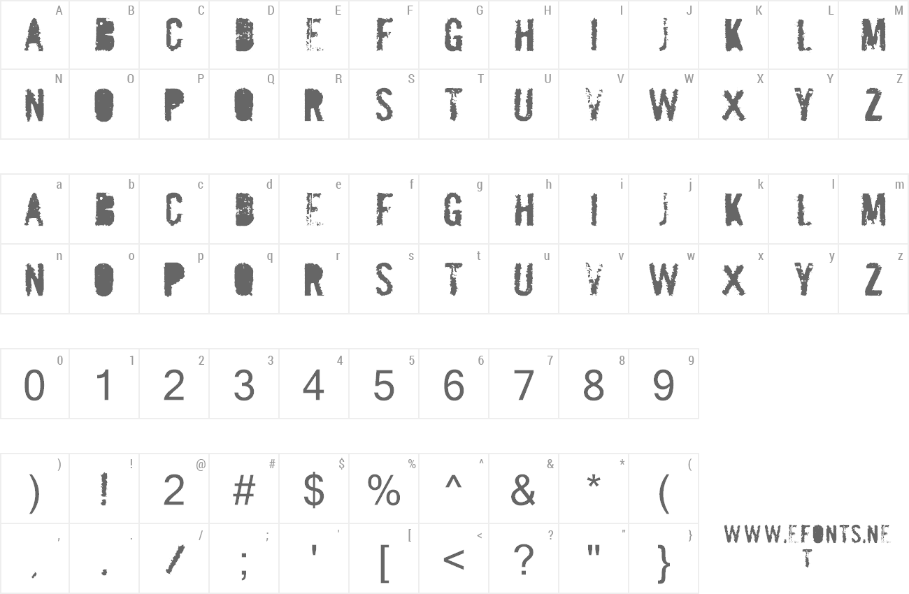 Font Mailbomb preview