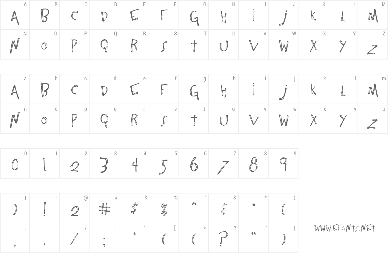 Font One Constant preview