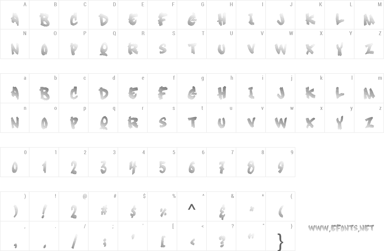 Font Soft Sugar preview