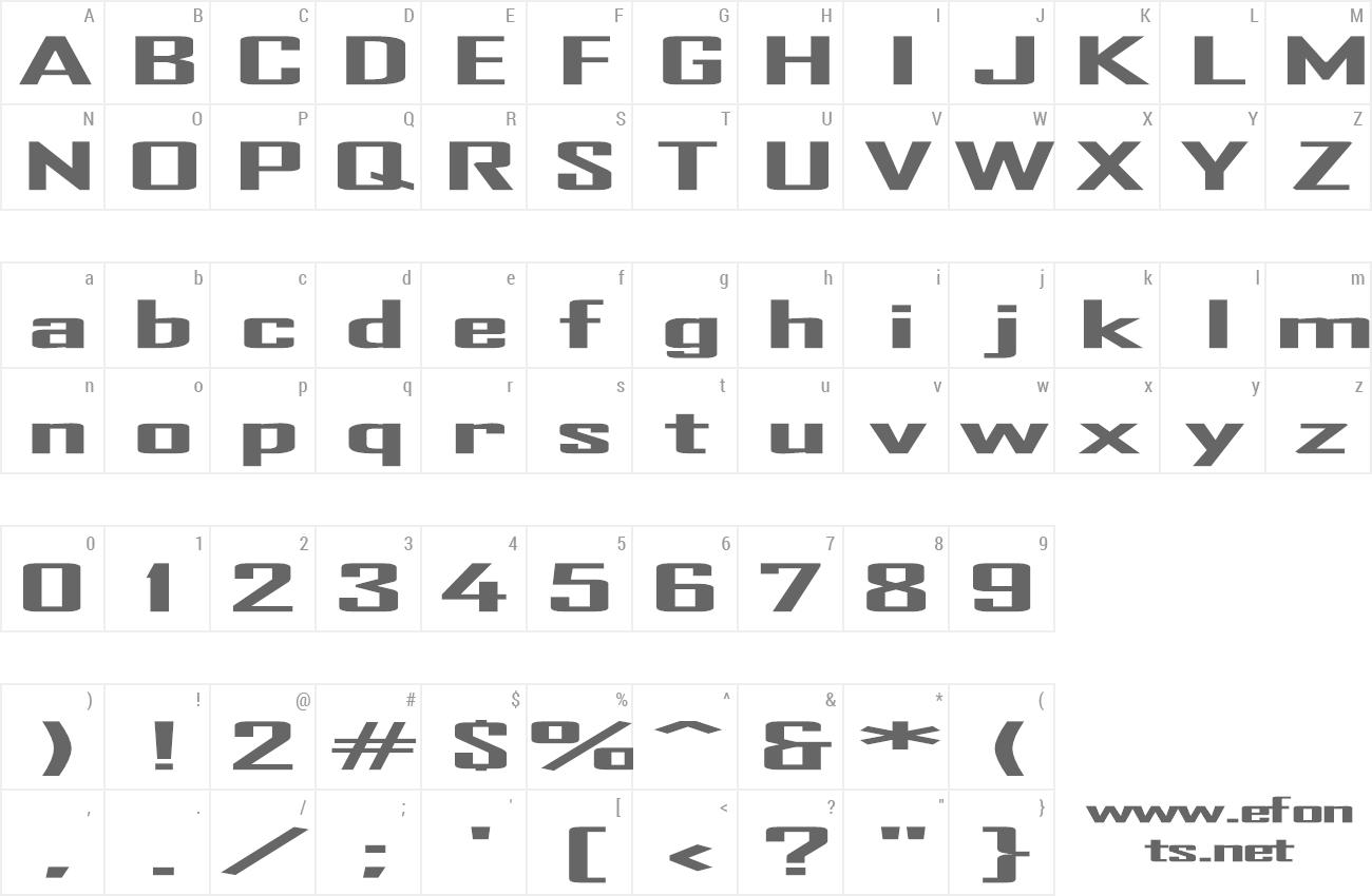 Tr heavy font ttf font preview altavistaventures Images