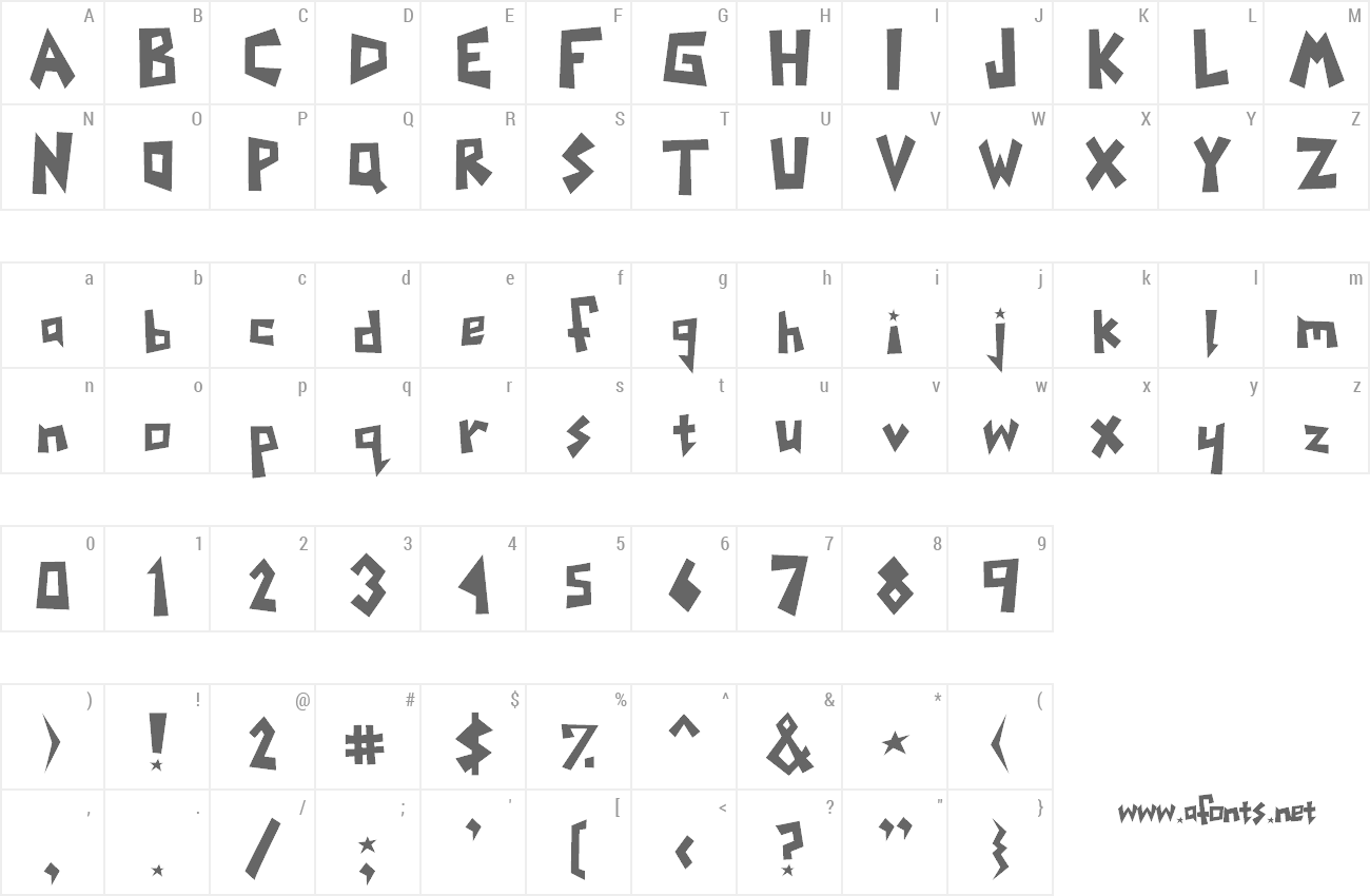 Font Yoinks preview