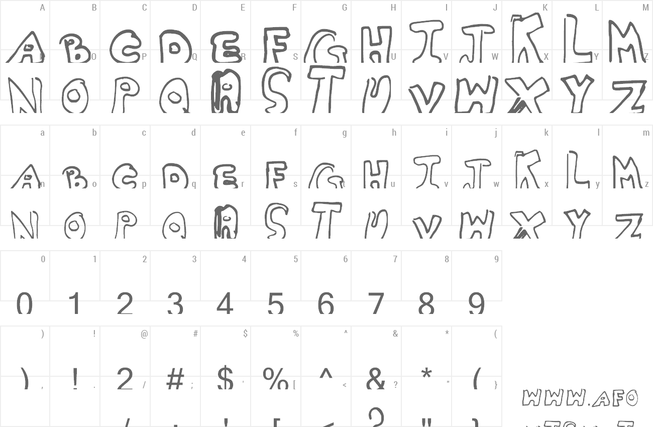 Font Whitney2 preview