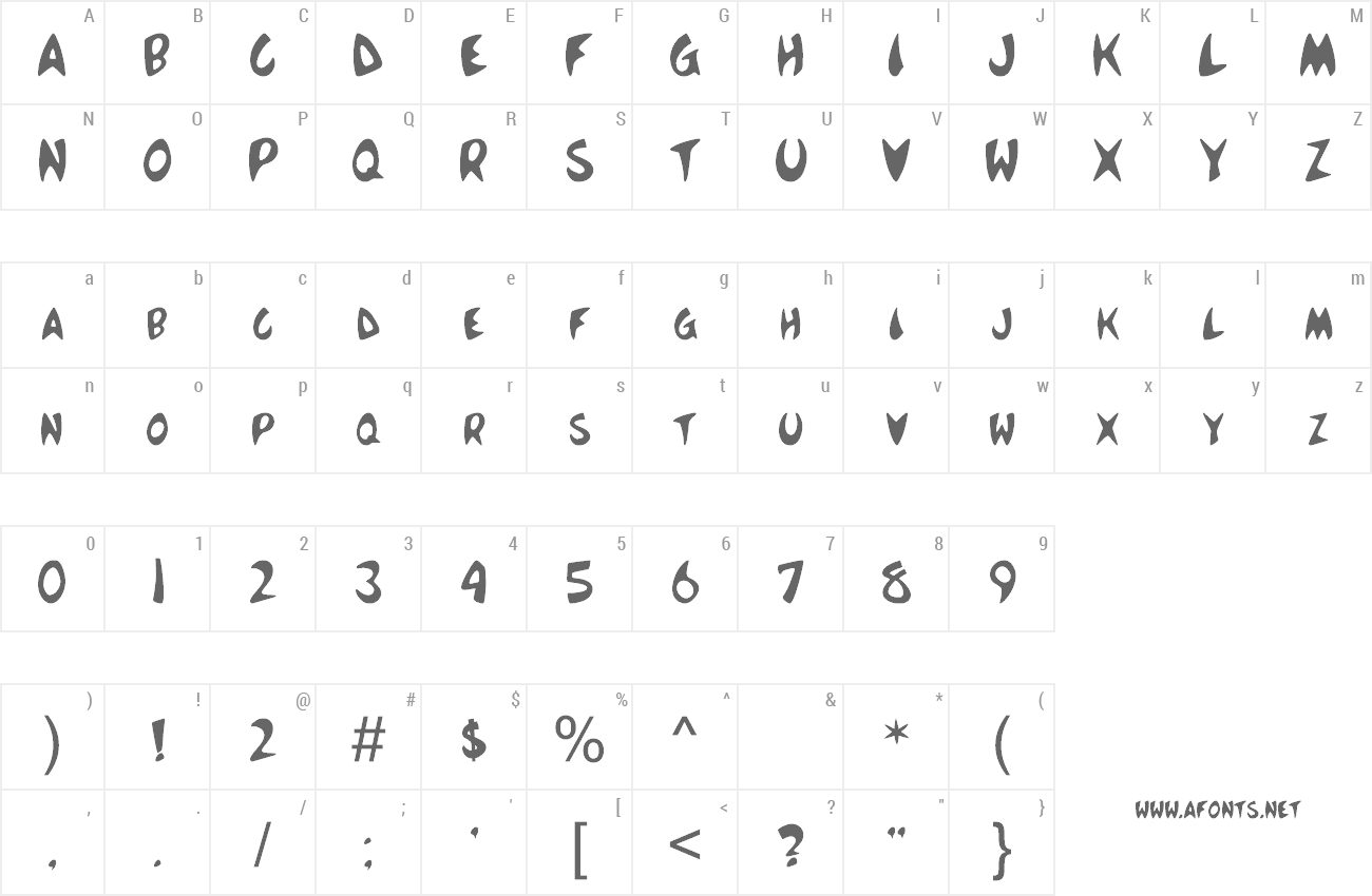 Font Mc Boing Boing preview