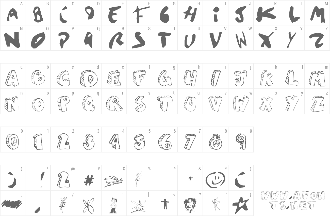Font Aguzlo preview