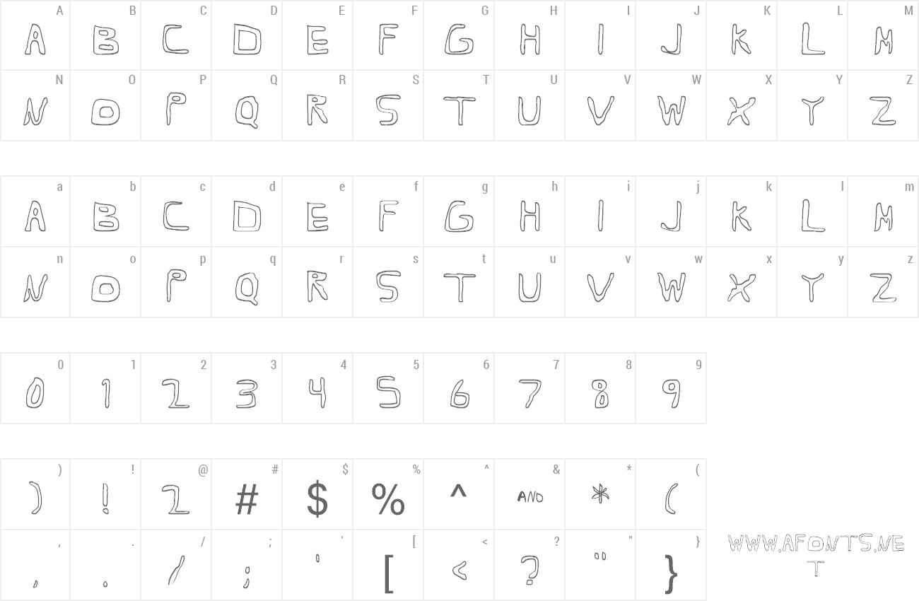 Font Barbapa 3 preview