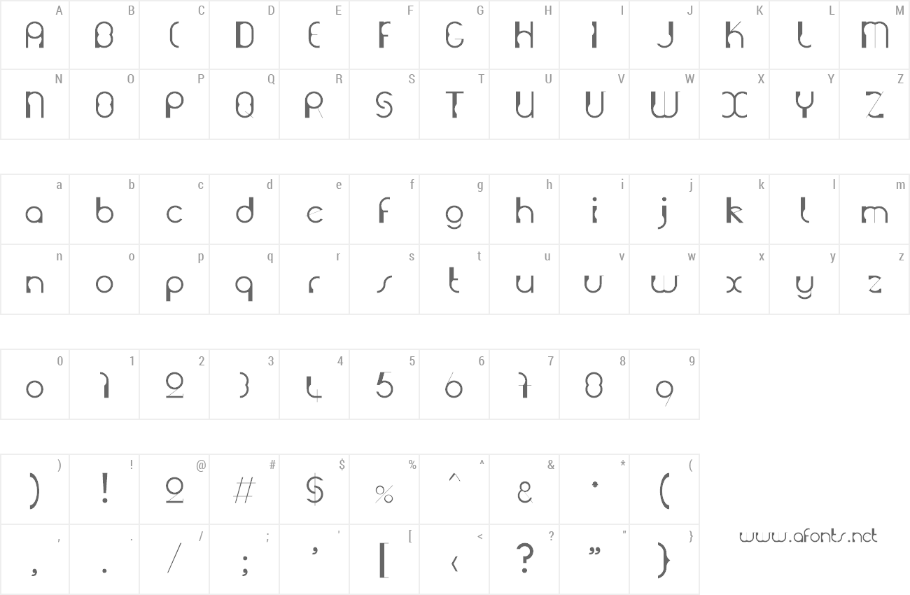 Font Grutch Construkt preview