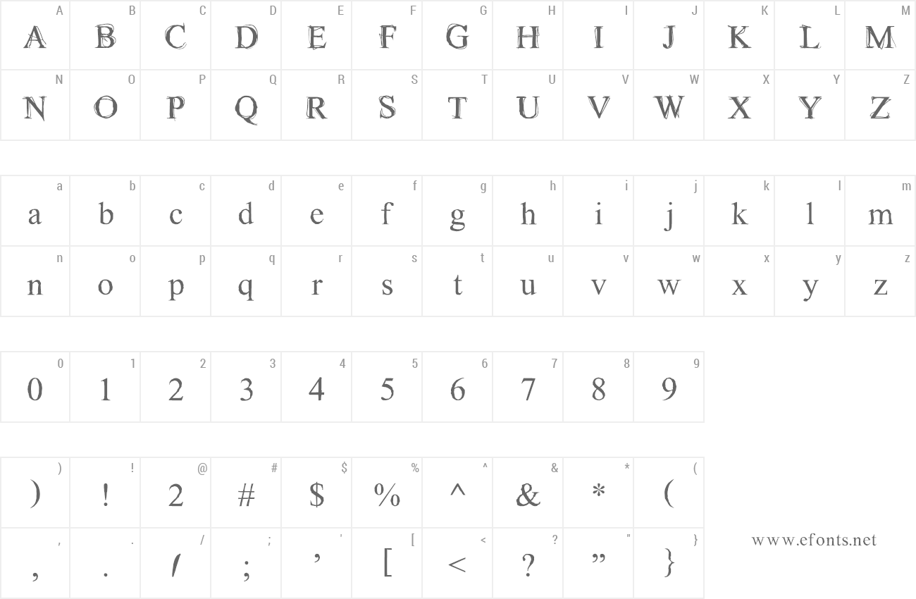 Font Maudlin Sketch preview