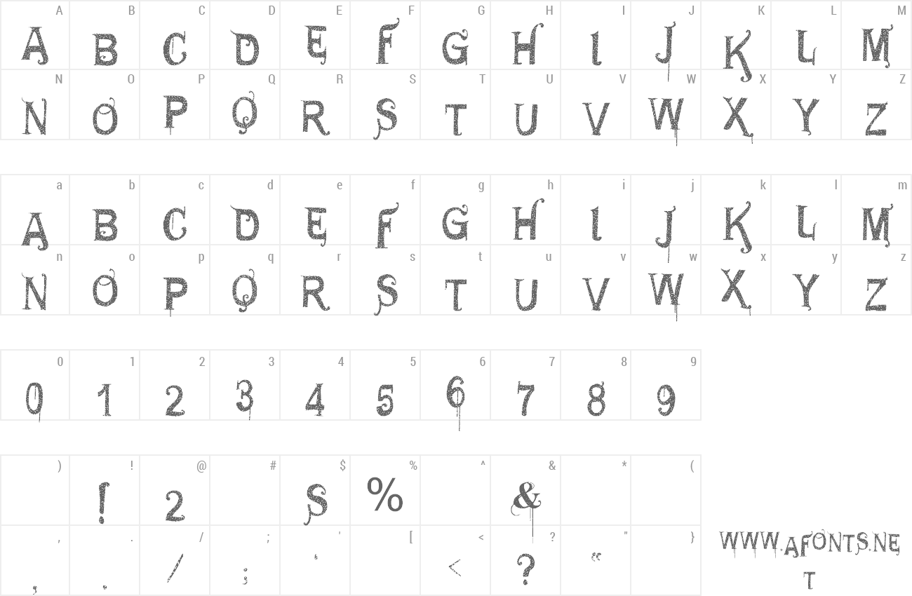 Font VTKS General Use preview