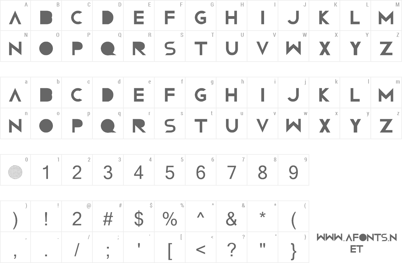 Font Confussion RNG preview