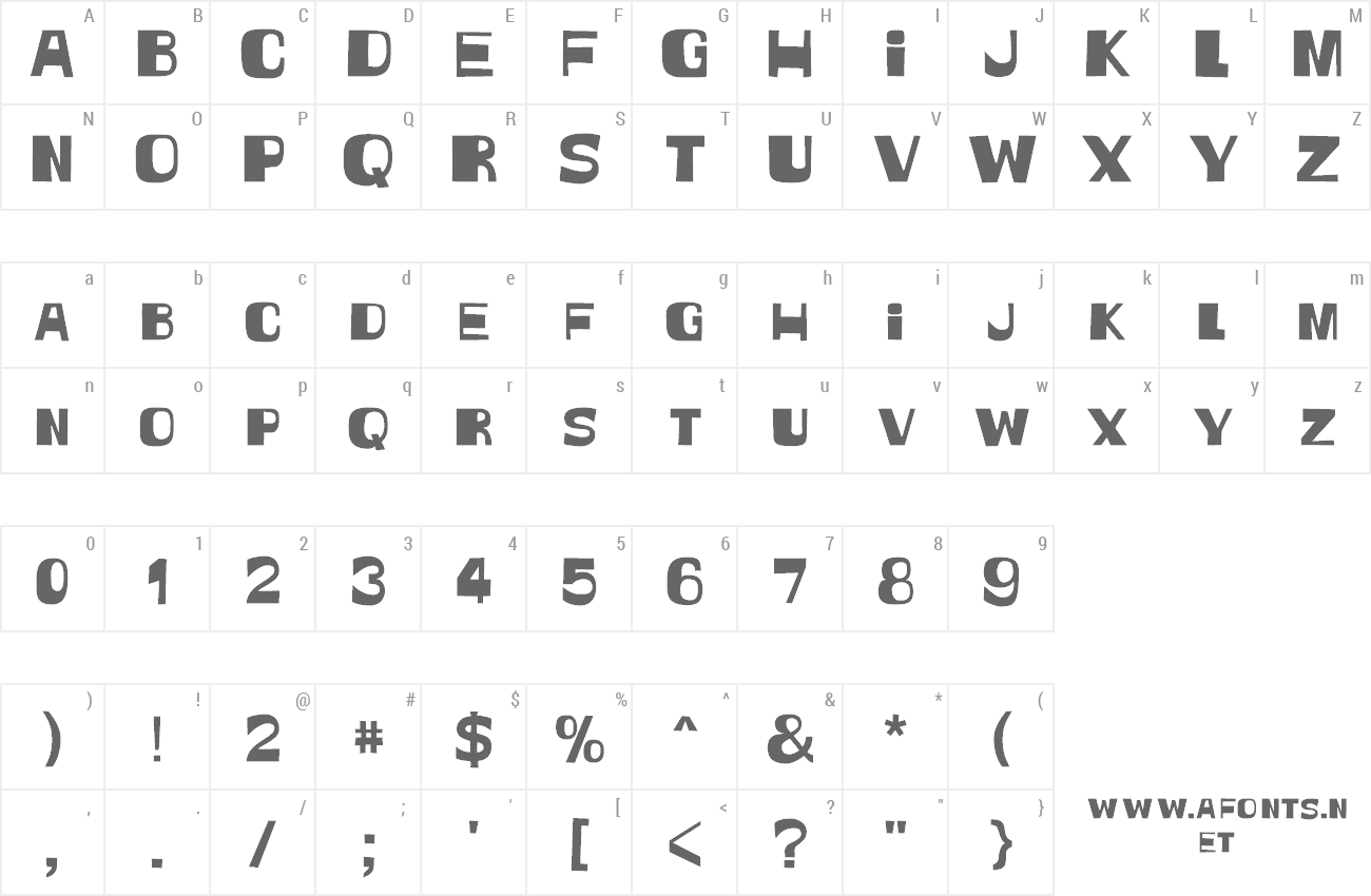 Font Witless preview