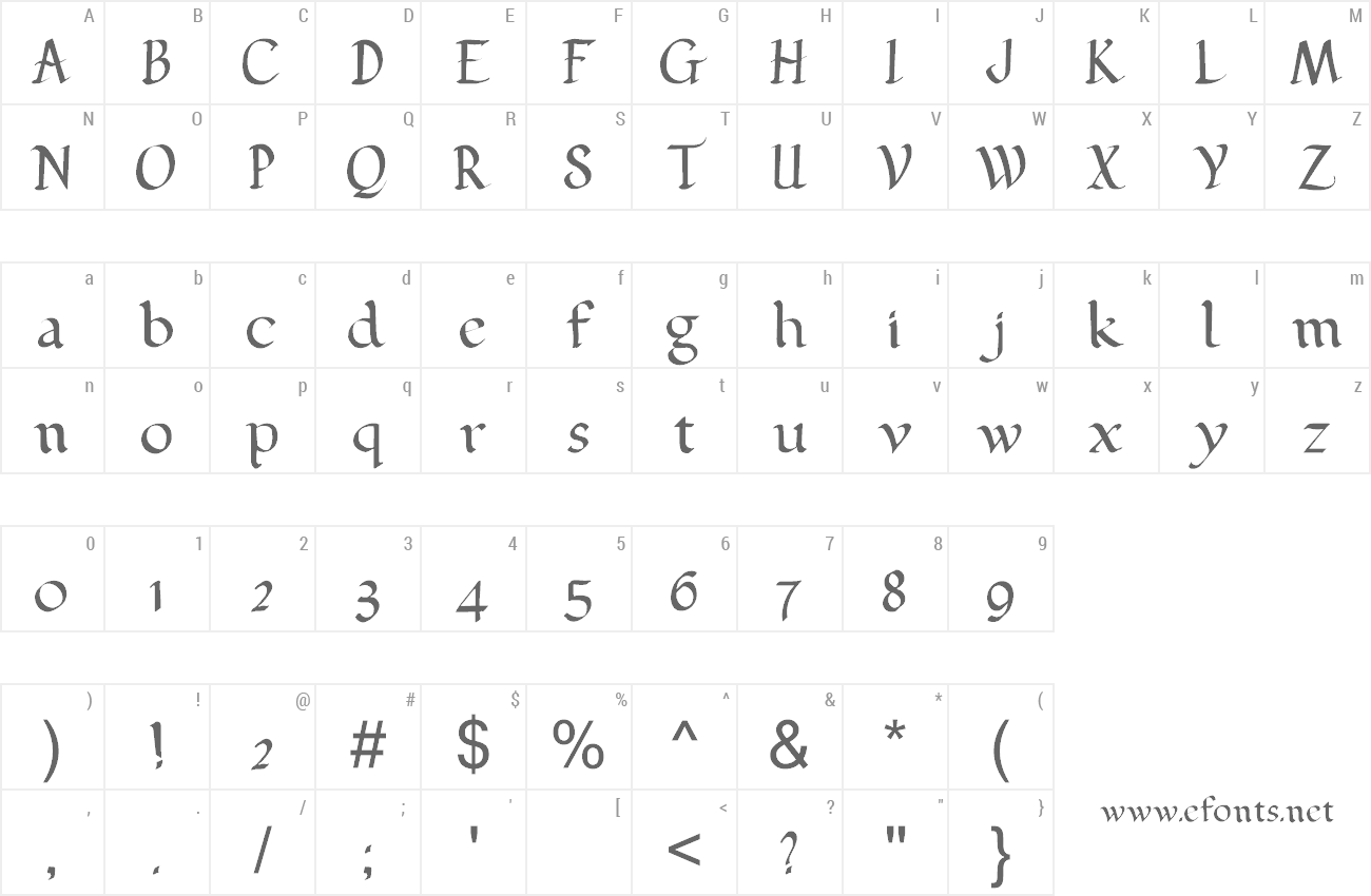 Font Pehuensito preview