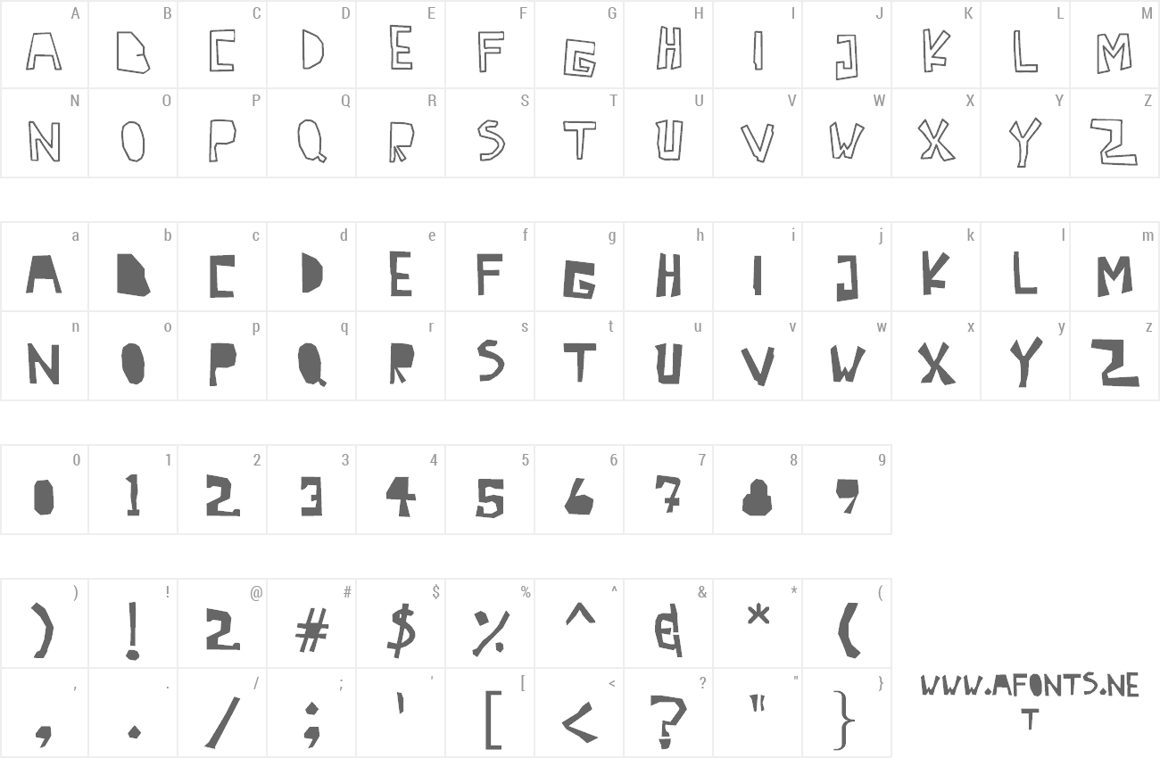 Font Antidotes preview