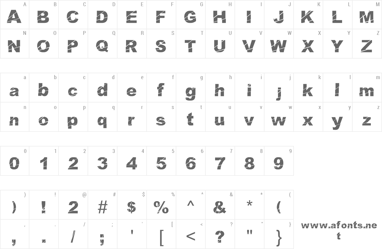 Font Cosmical Disfase preview