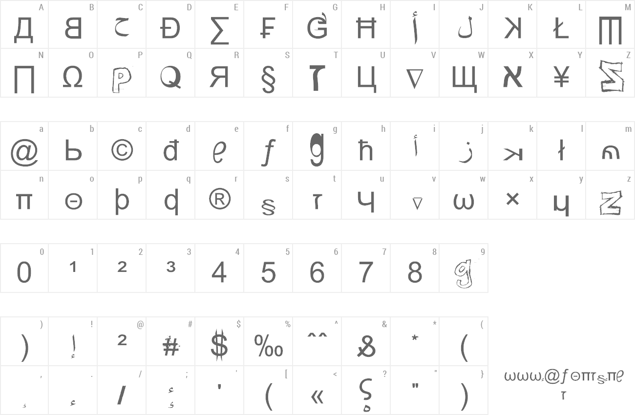 Font Weird Tucan-Noobs from Saint Seson preview