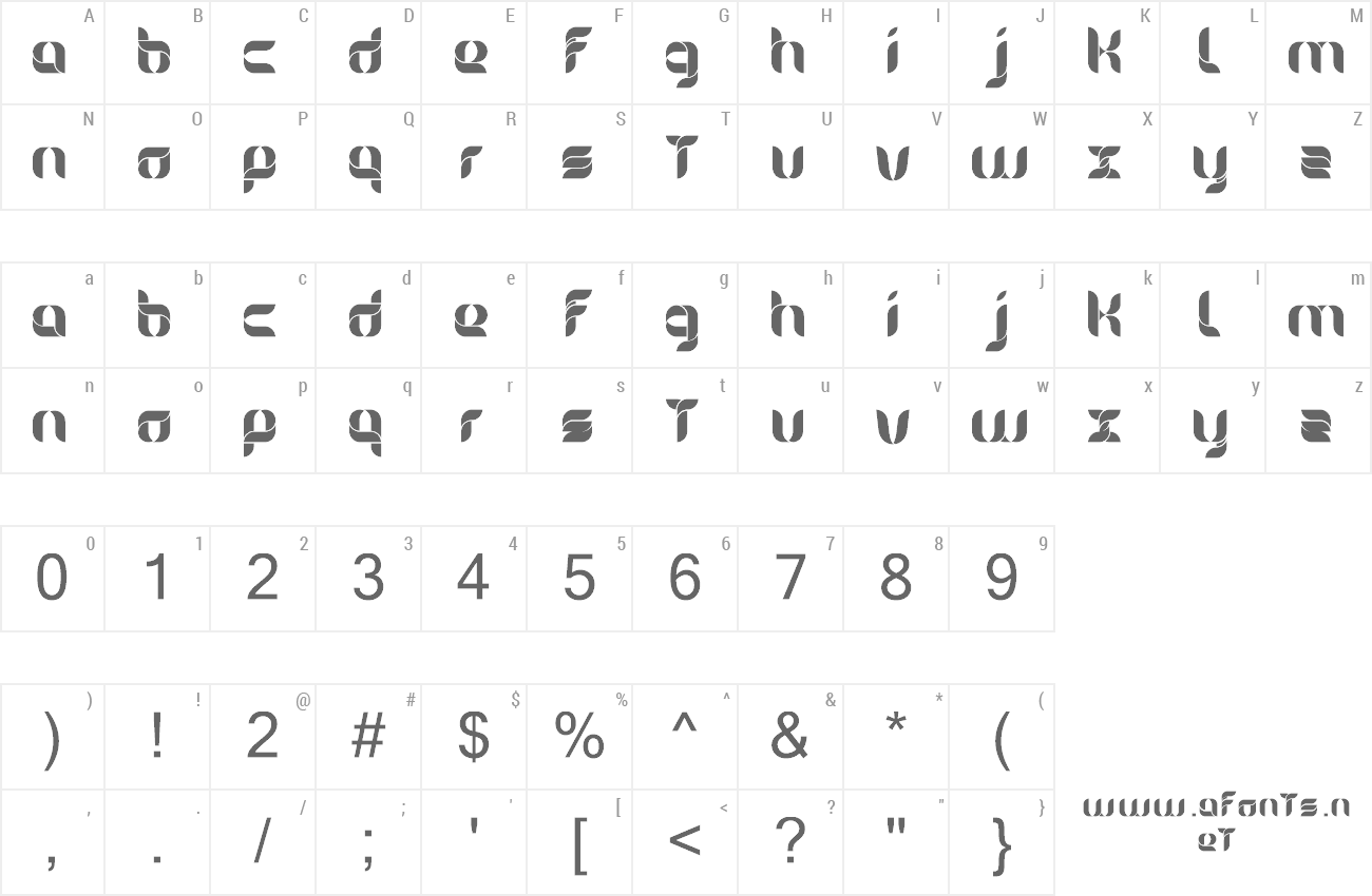 Font Alice preview