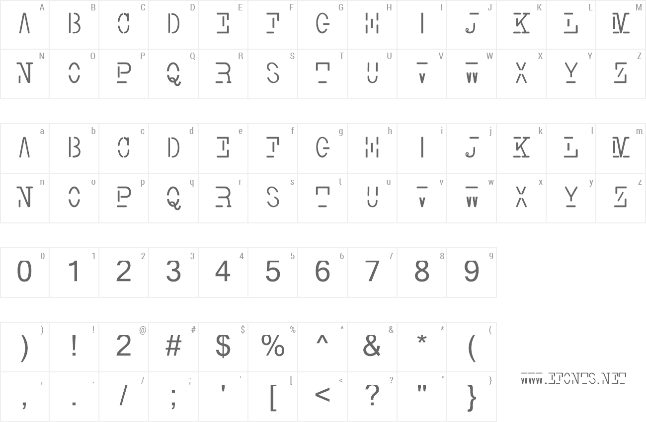 Font Smith Typewriter preview