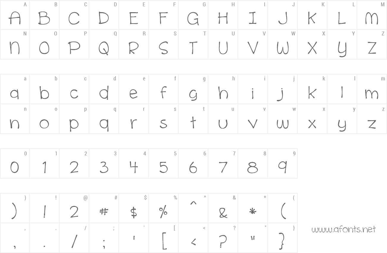 Font Cinnamon Cake preview