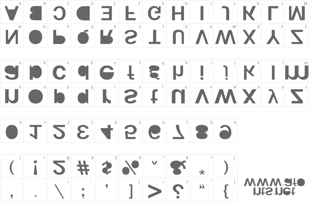 Font Woodcutter Kaos preview
