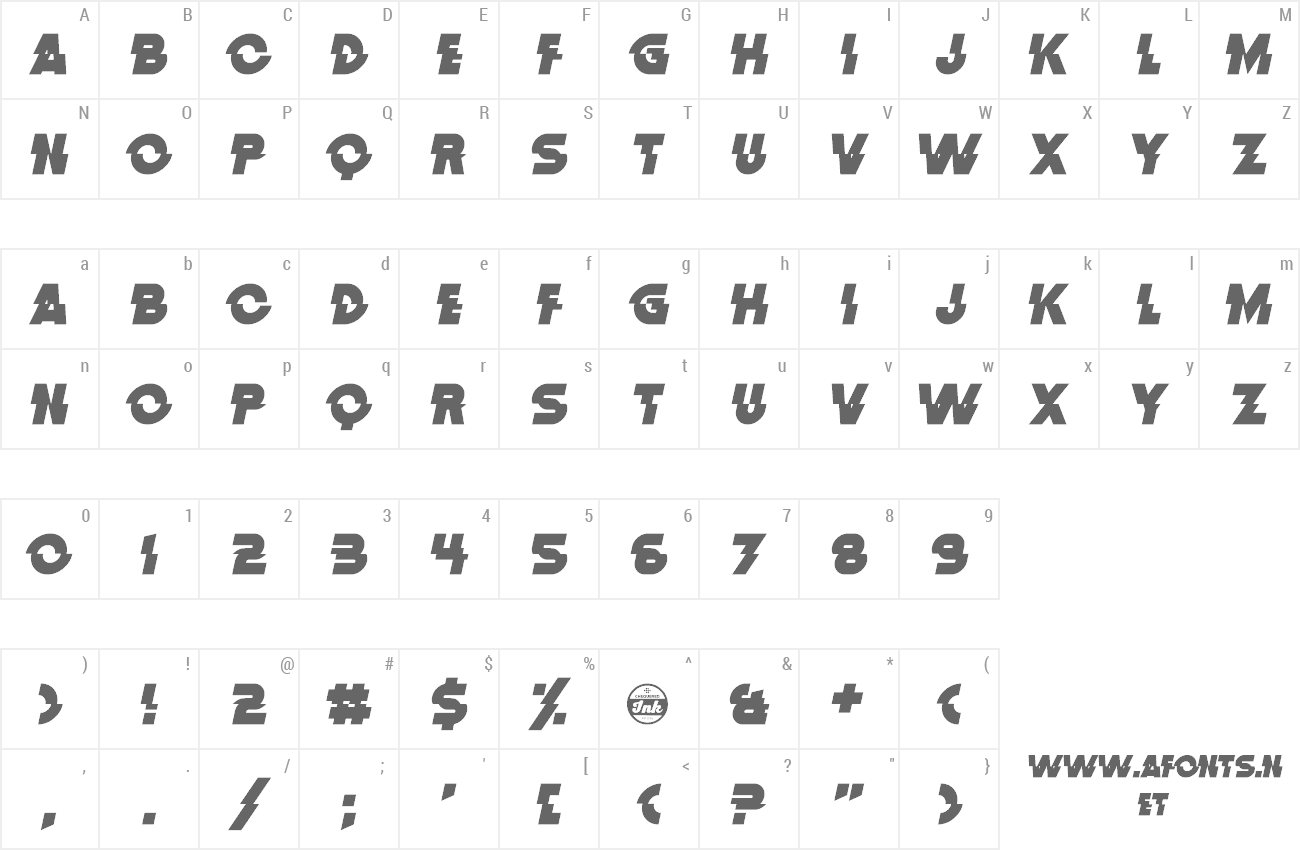 Font Distortion Dos Analogue preview