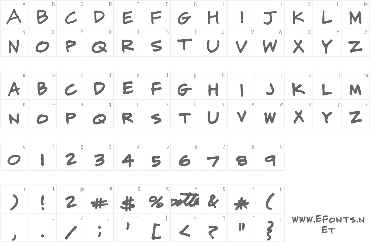 CJ Potter Handwriting Cj Handwritingttf Font Preview