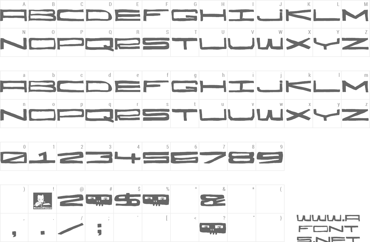 Font Hecatombe preview