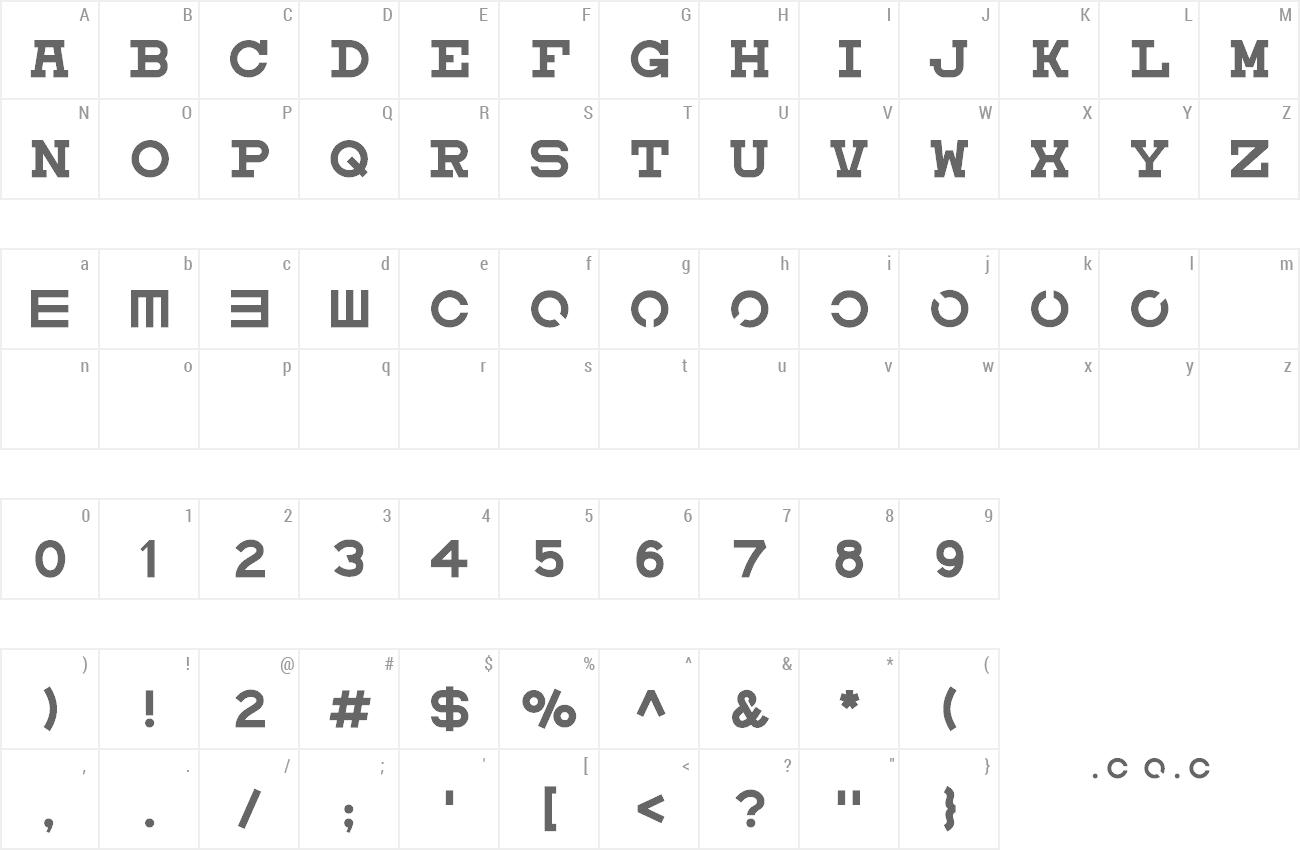 Various font themes eyechart nvjuhfo Gallery