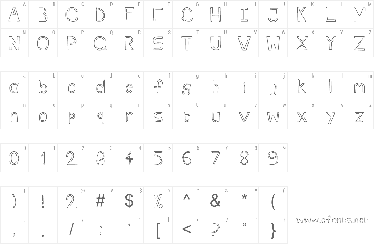 Font Rev preview