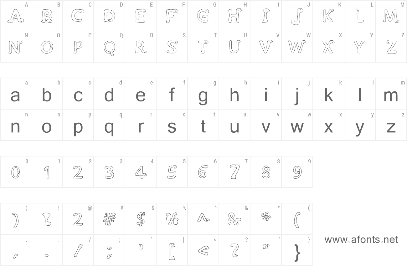 Font Times New Wumpus preview