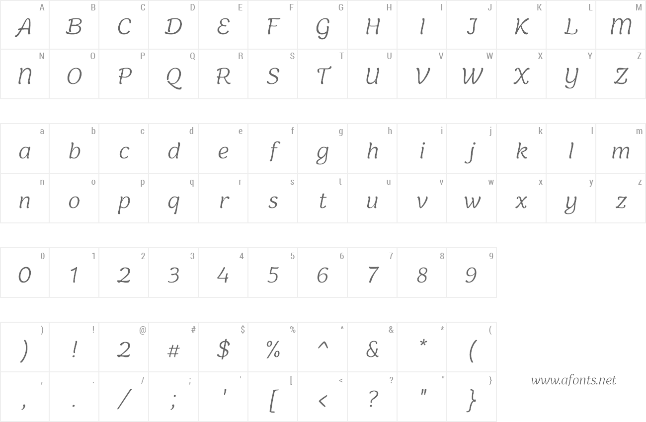 Font Holden preview