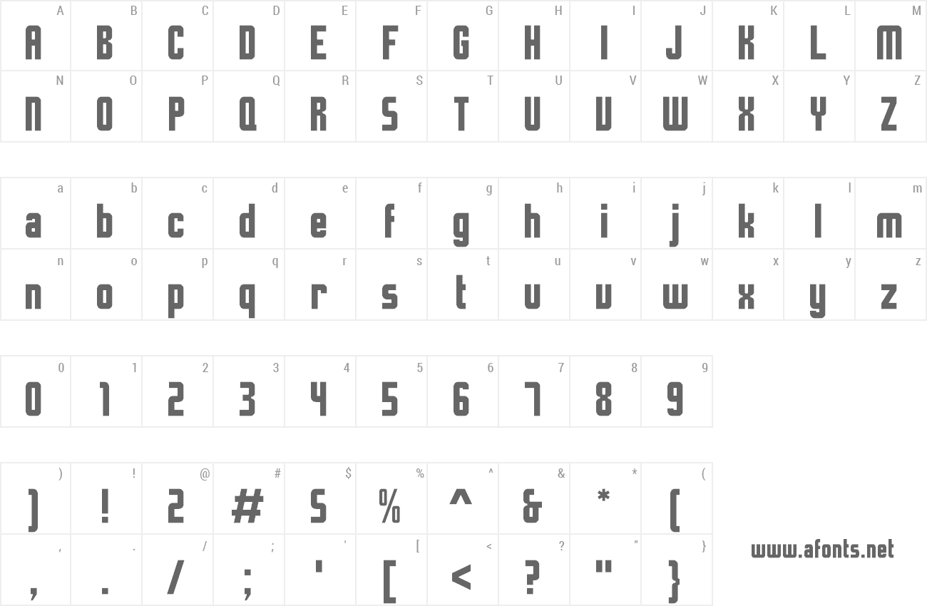 Time and Space Font