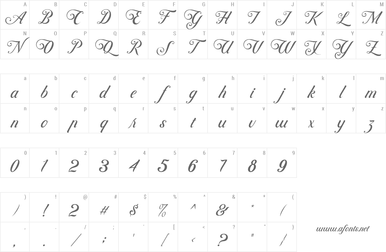 Font Controwell Script preview