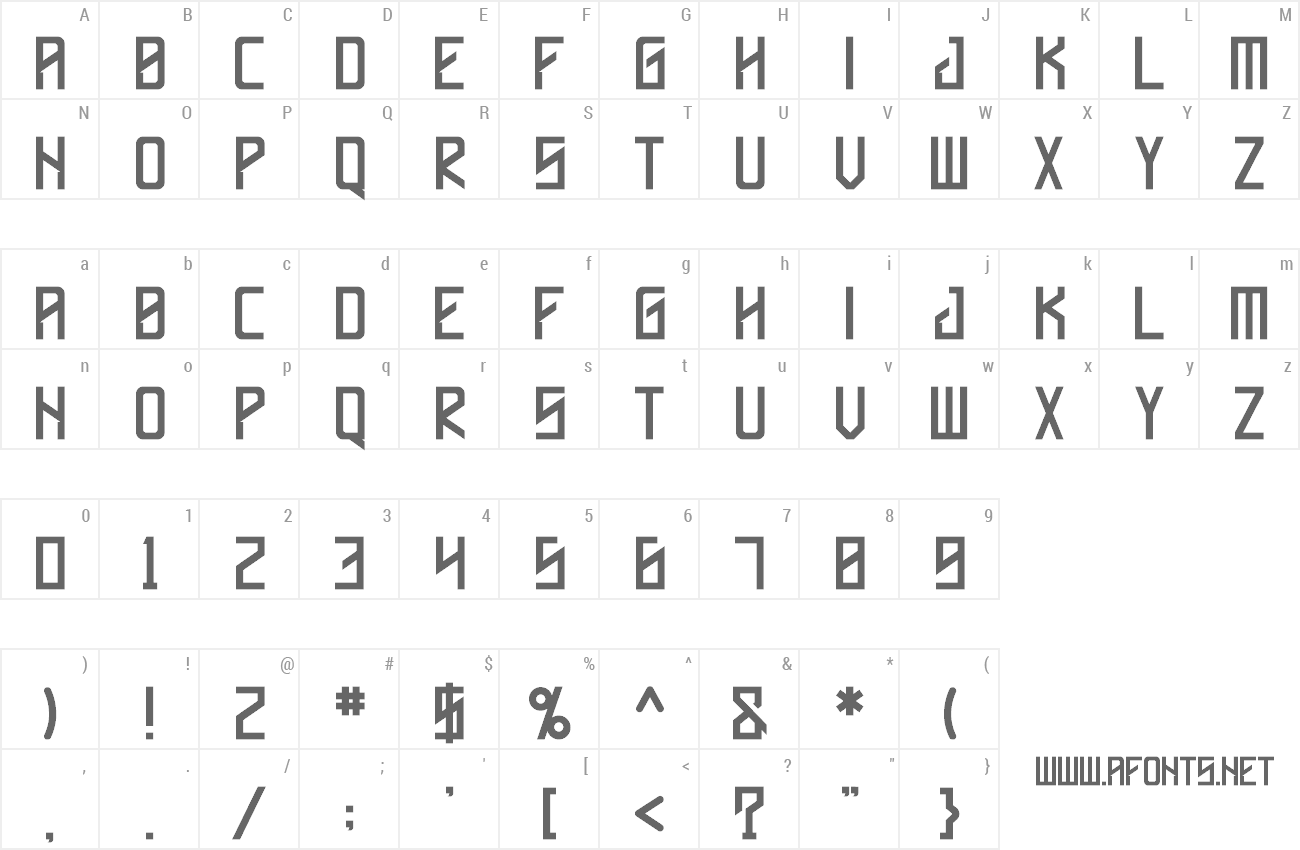 Font Hallyda preview