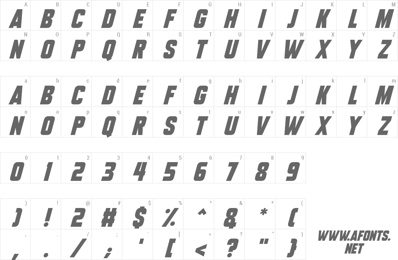 Font Tech Headlines preview