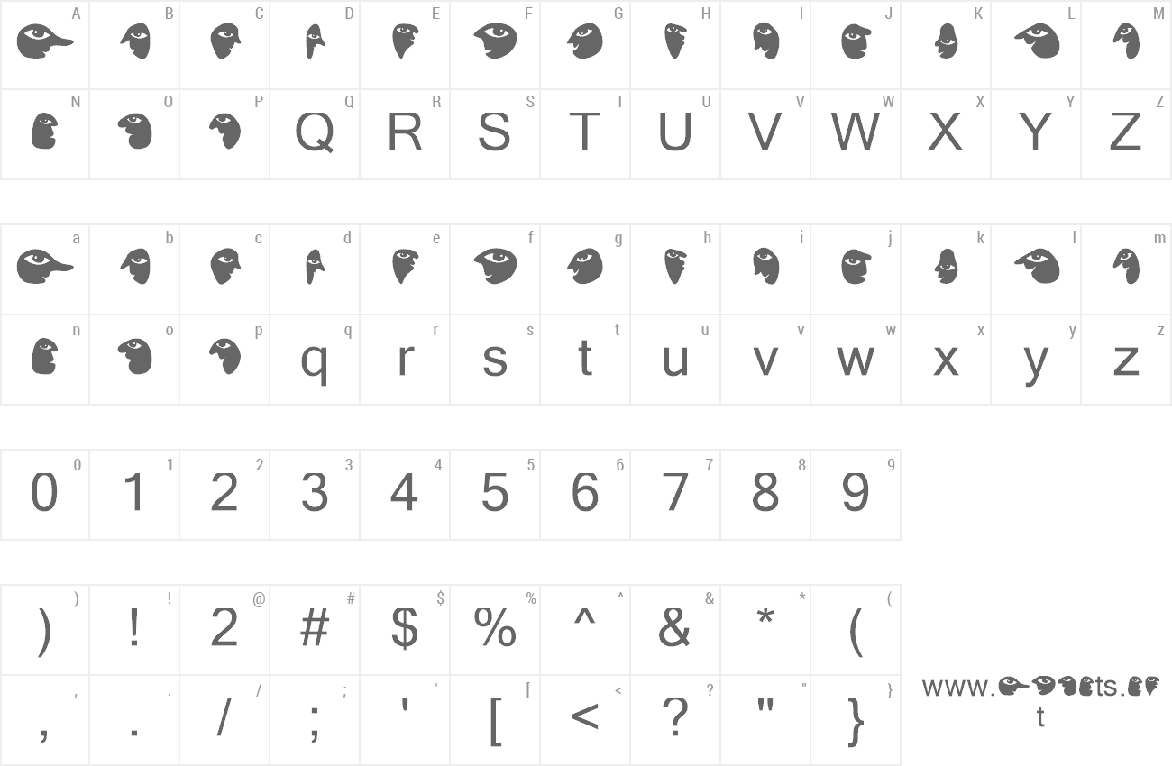 Font Troep preview