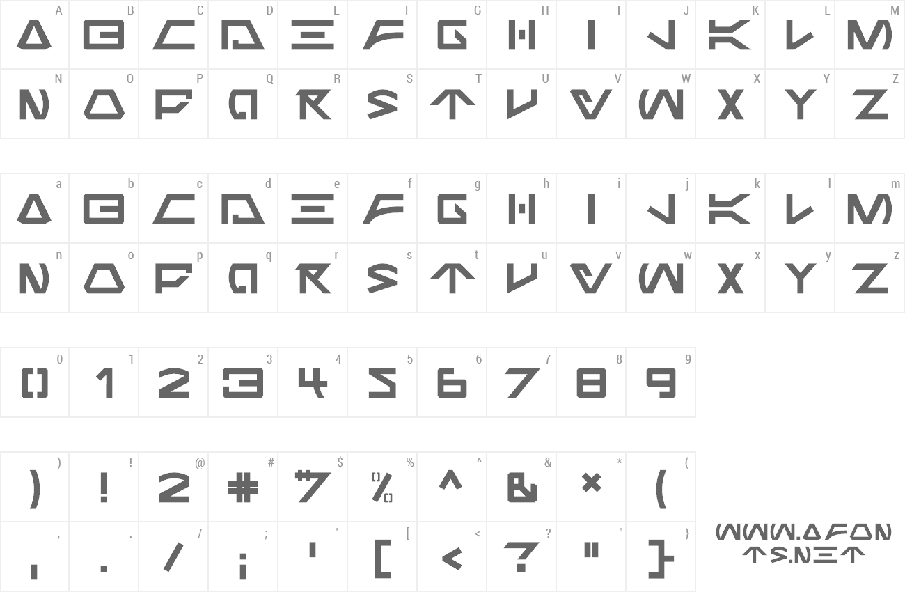 Font Jabba the Font preview