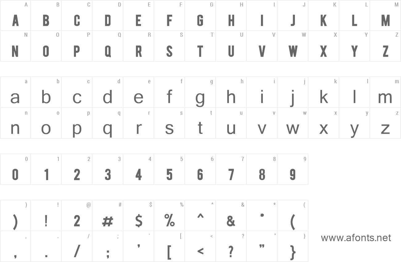 Font Berry bold preview