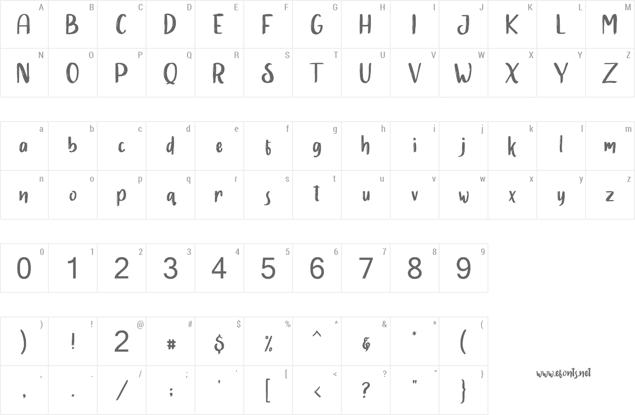 Font Slowly Two preview