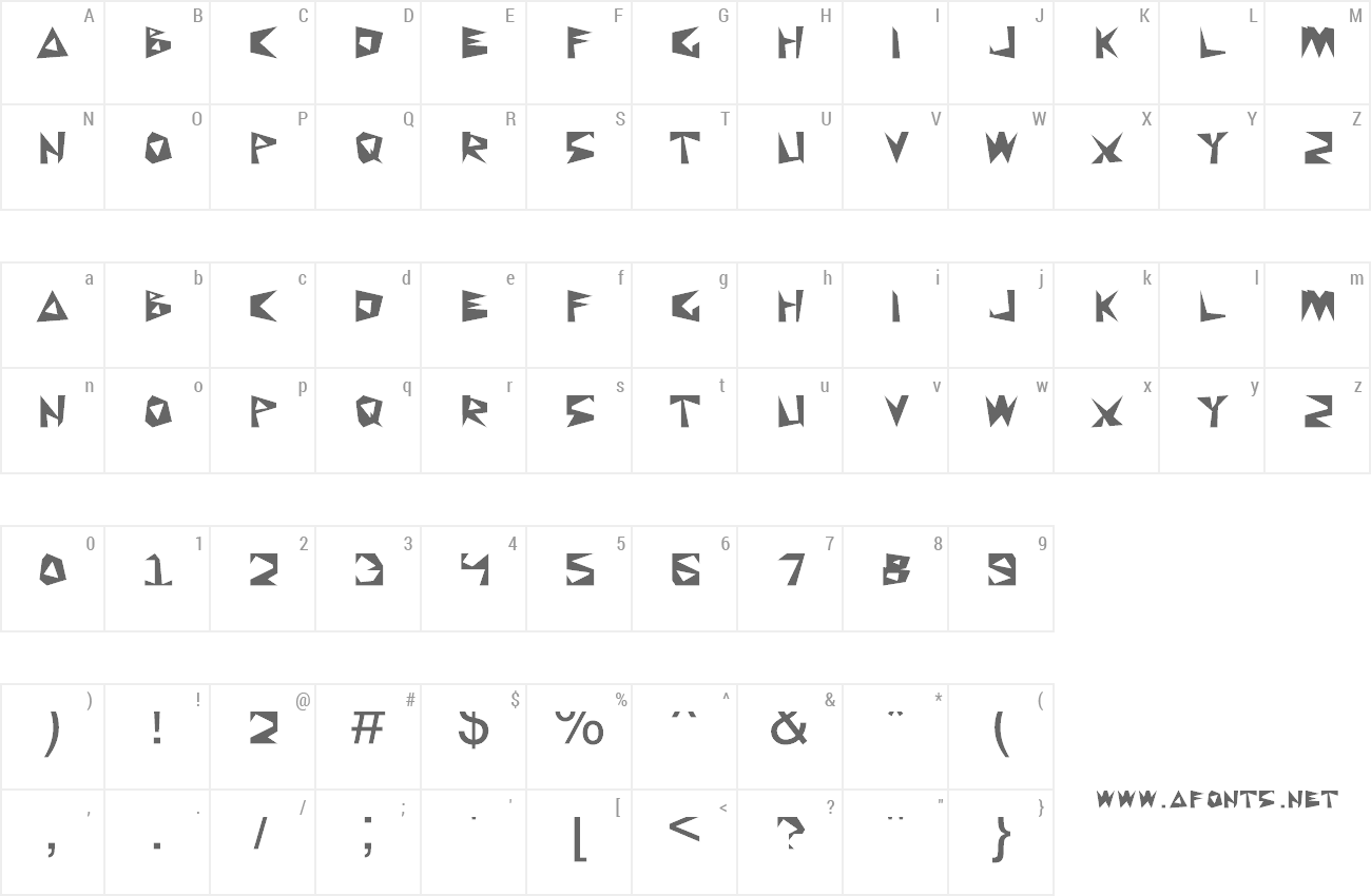 Font Wkwkwk Land preview
